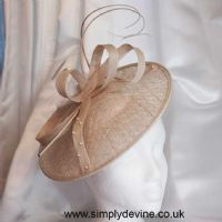 Champagne Gold Wedding Hatinator F1503